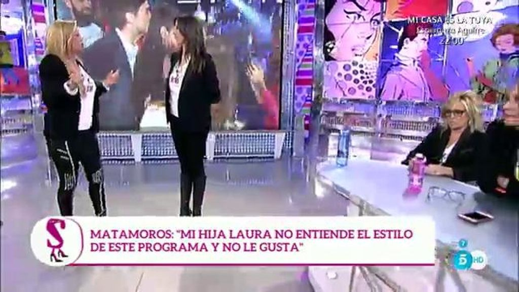 """Rosa Benito, sarcástica con Belén Esteban: """"Que hable ella que no repite"""""""