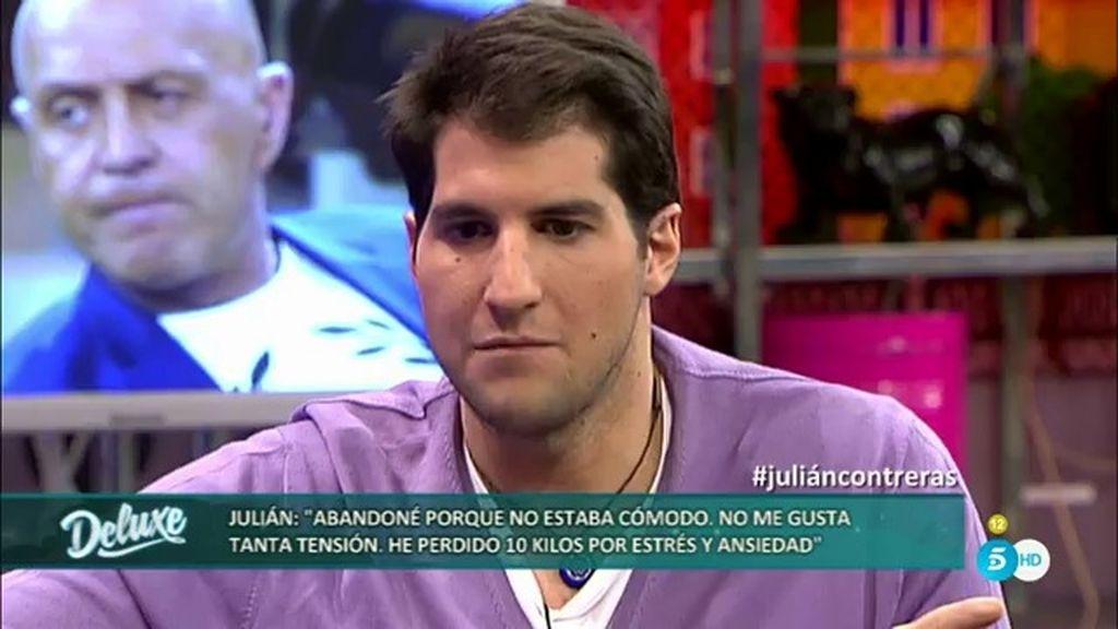 """Julián Conteras: """"La otra única vez que perdí los nervios fue cuando murió mi madre"""""""