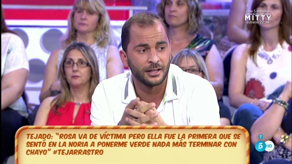 """Antonio Tejado, de Rosa Benito: """"Por dinero le ha convenido decir barbaridades"""""""