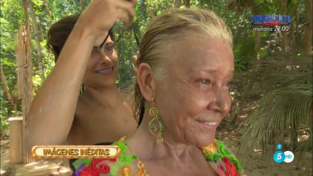 Imágenes inéditas: Así se vistió Mila para desfilar desde Honduras