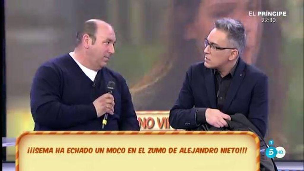 """Julio Nieto: """"Sema ha echado un moco en el zumo de Alejandro Nieto"""""""