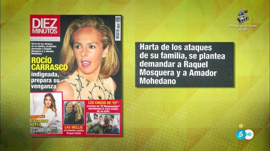 Rocío Carrasco, indignada, prepara su venganza, según 'Diez Minutos'