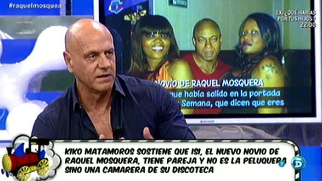 """Kiko Matamoros, a Raquel Mosquera: """"Vete a contarle cuentos a otro"""""""