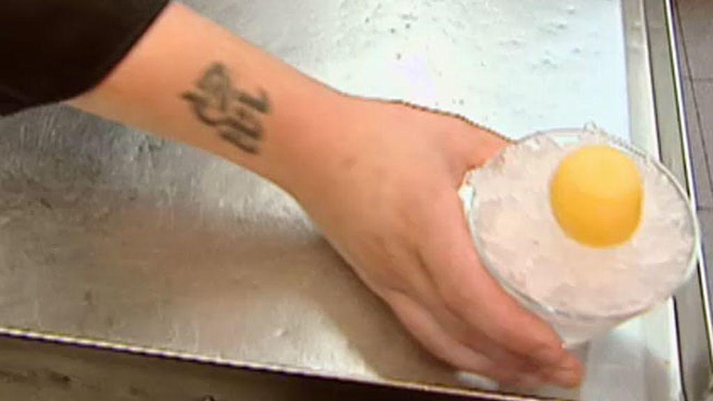 La receta de La Criolla: Yema de Martini