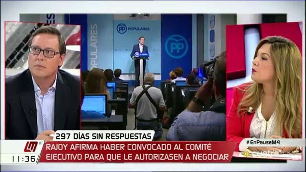 "Raquel Morales (C's), sobre las palabras de Rajoy: ""Nos pilló a contrapié"""