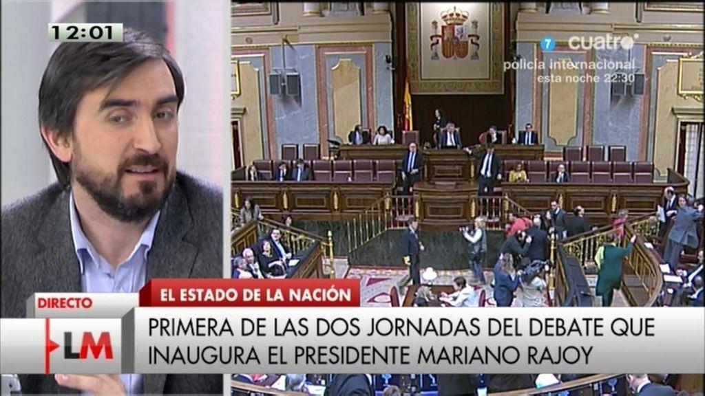 """Ignacio Escolar, sobre Rajoy: """"Se puede ser incompetente sin ser malvado"""""""