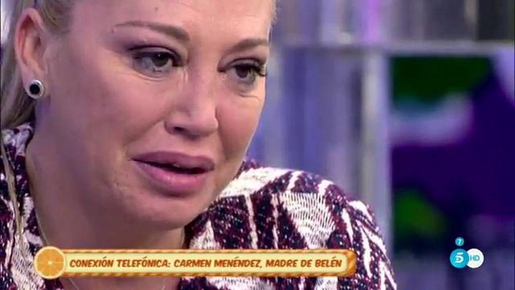 """Carmen, madre de Belén, sobre Toño Sanchís: """"Le advertíamos y no hacía caso"""""""