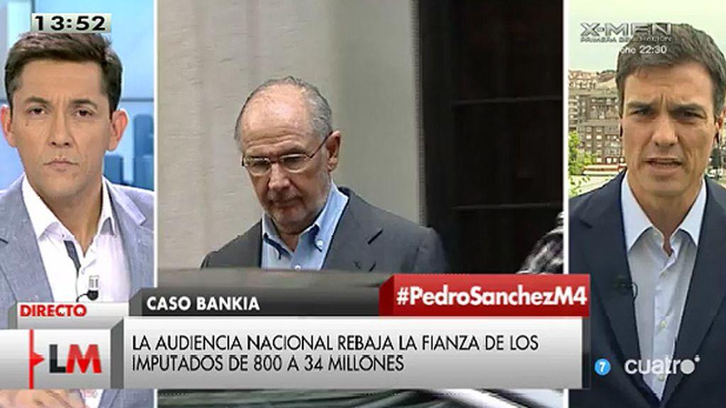 """P. Sánchez: """"Hay que esclarecer hasta el último tramo de lo que ha representado esta vergonzosa amnistía fiscal"""""""