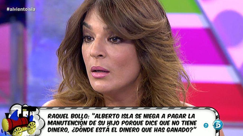 Raquel Bollo no quiere que Chabelita se quede a solas con Alberto Isla