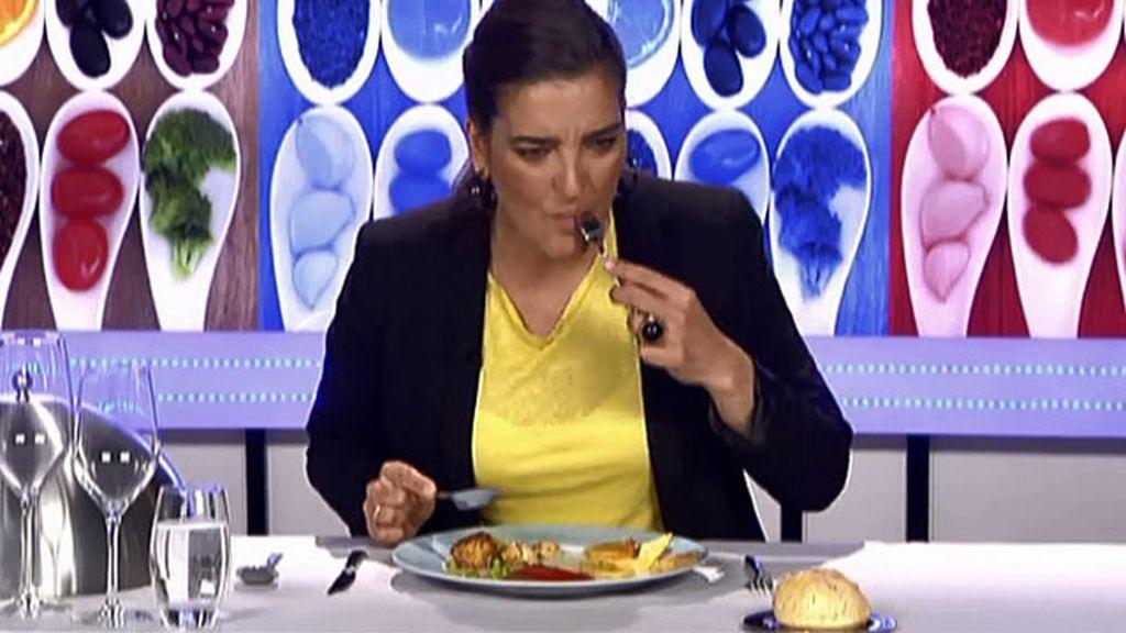 """María Jiménez Latorre, sobre el plato de Ana: """"Se les han quedado revenidas las patatas"""""""