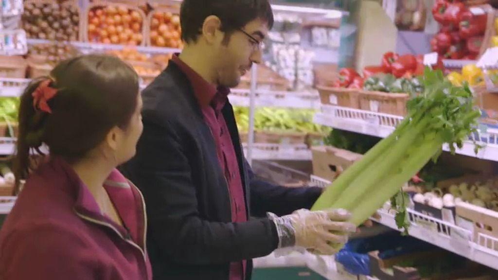 El disgusto de Juanra: la cesta de la compra vegana le cuesta 120 euros