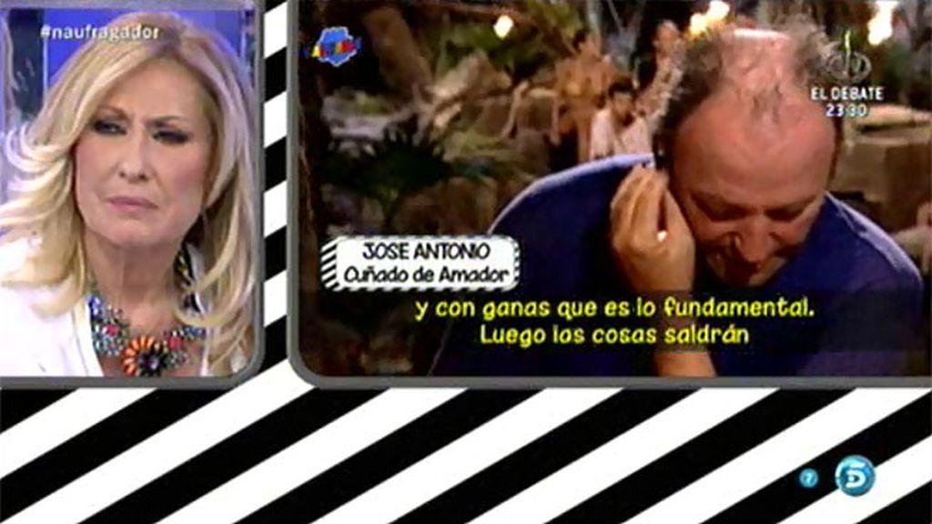 José Antonio, el cuñado de Amador, explica por qué no es su defensor en 'SV'