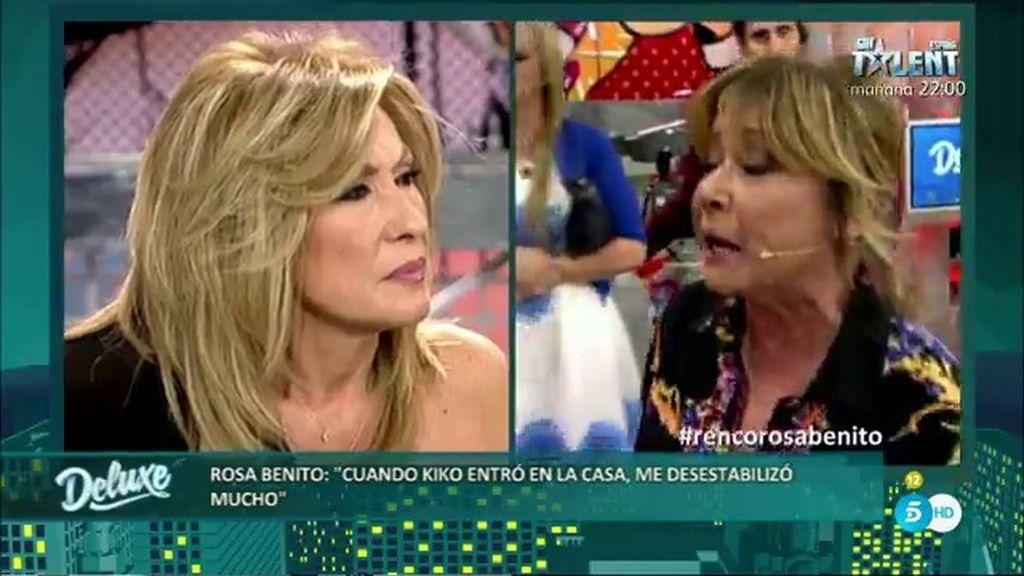 """Mila, a Rosa Benito: """"Mi yerno no arrastra a mi hija por los pueblos como el tuyo"""""""