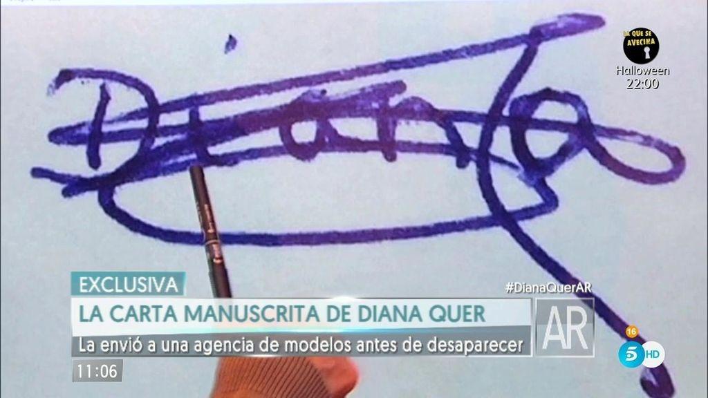 """Grafóloga: """"Diana Quer es inmadura y con una autoestima muy baja"""""""