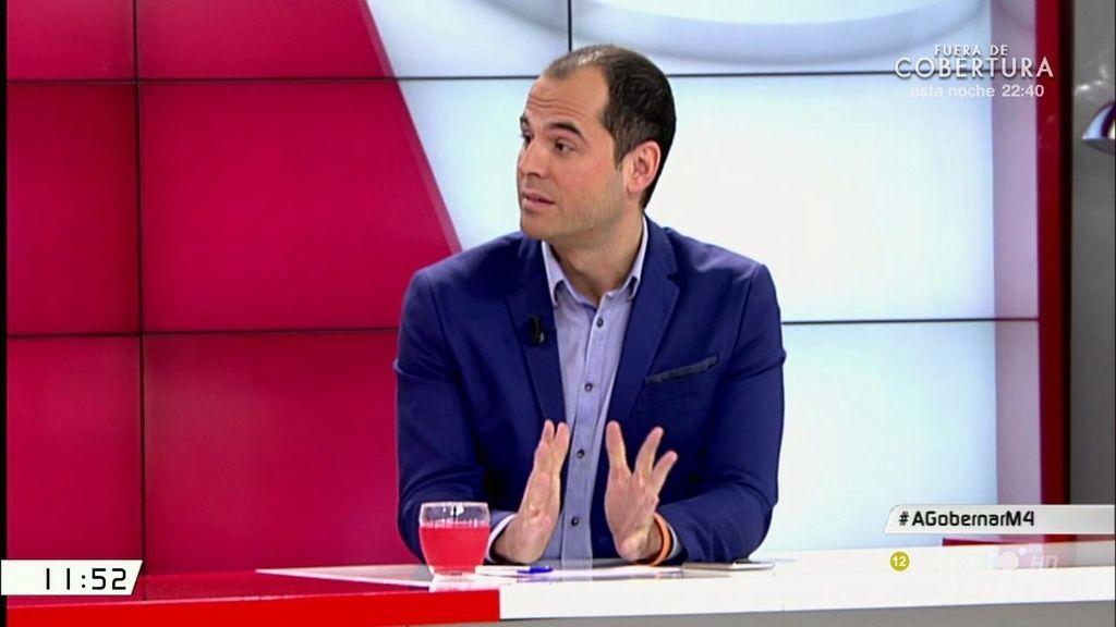 """Ignacio Aguado, a Emilio del Río: """"Habéis llevado a cabo la mayor subida de impuestos de la democracia"""""""