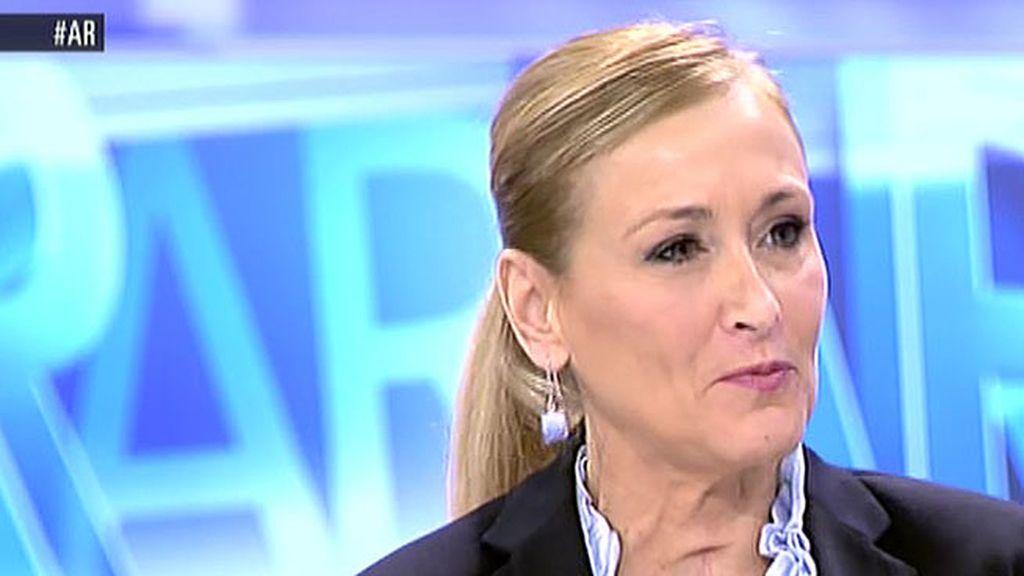 """Cristina Cifuentes: """"Que haya debate dentro de los partidos es positivo"""""""