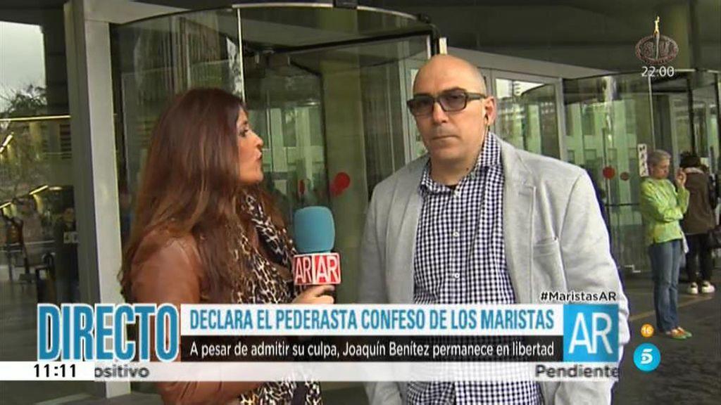 """Manuel, padre de una víctima de abusos en Los Maristas: """"El centro lo sabía"""""""