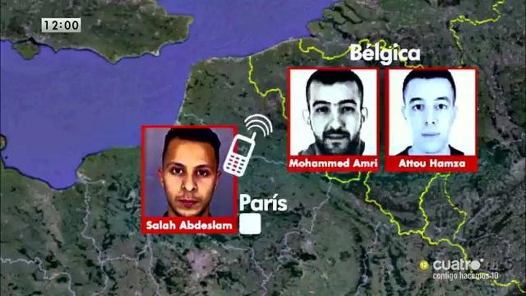 Los pasos de Salah Abdeslam, uno de los autores materiales de los atentados