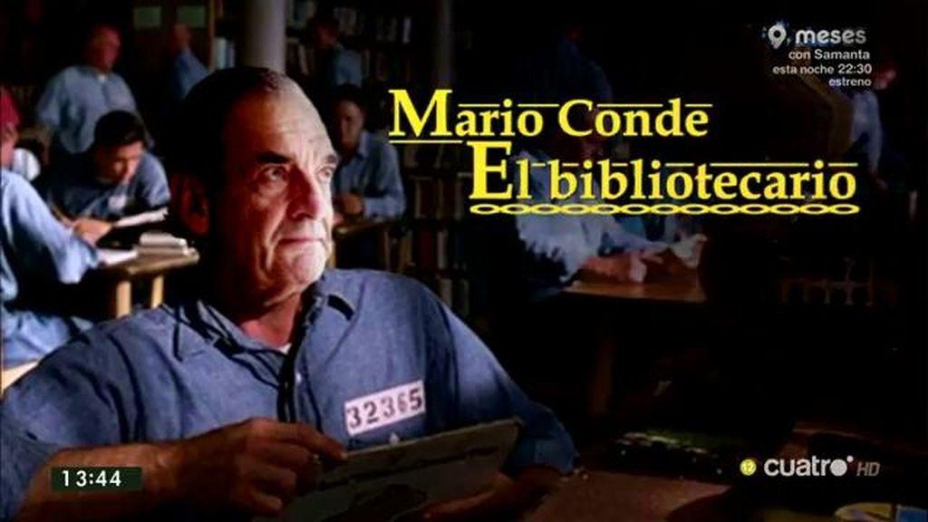 Mario Conde, bibliotecario