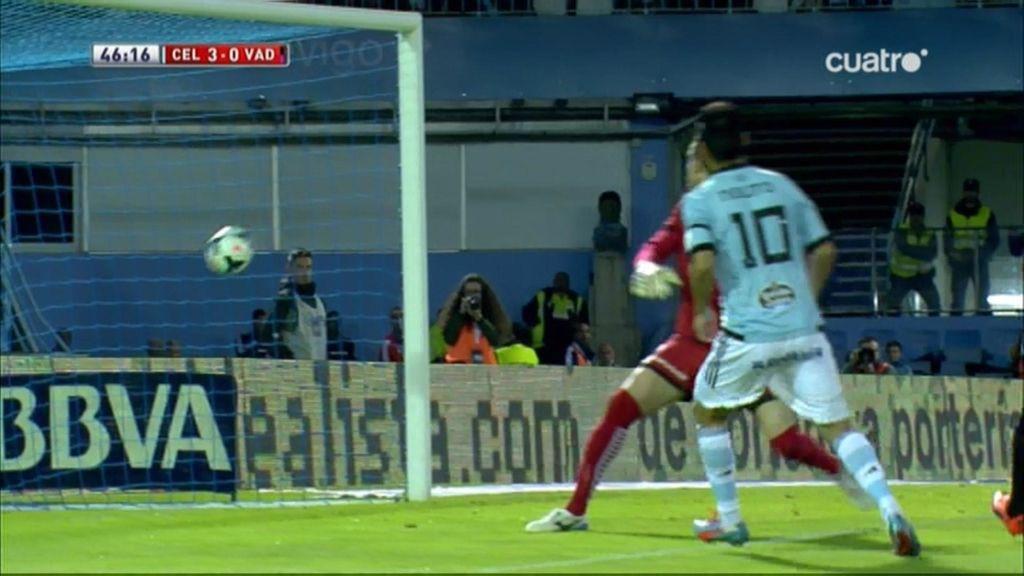 Gol de Nolito (Celta 3-0 Valladolid)