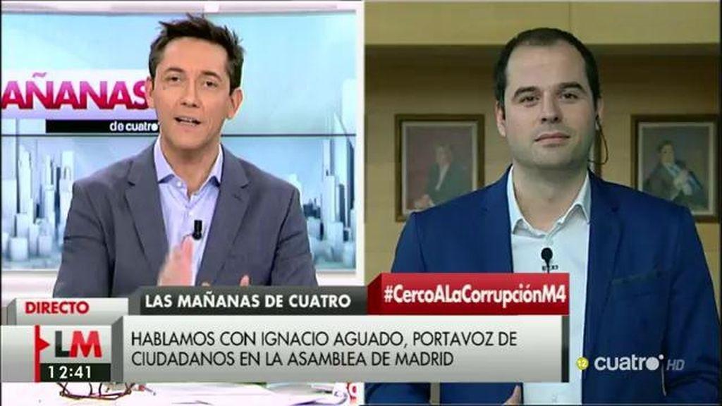 """I. Aguado, de Aguirre: """"Esta dimisión es bienvenida, llega tarde y seguimos exigiendo responsabilidades políticas"""""""