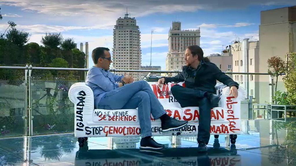 "P. Iglesias: ""Estoy lejísimos de ser un santo"""