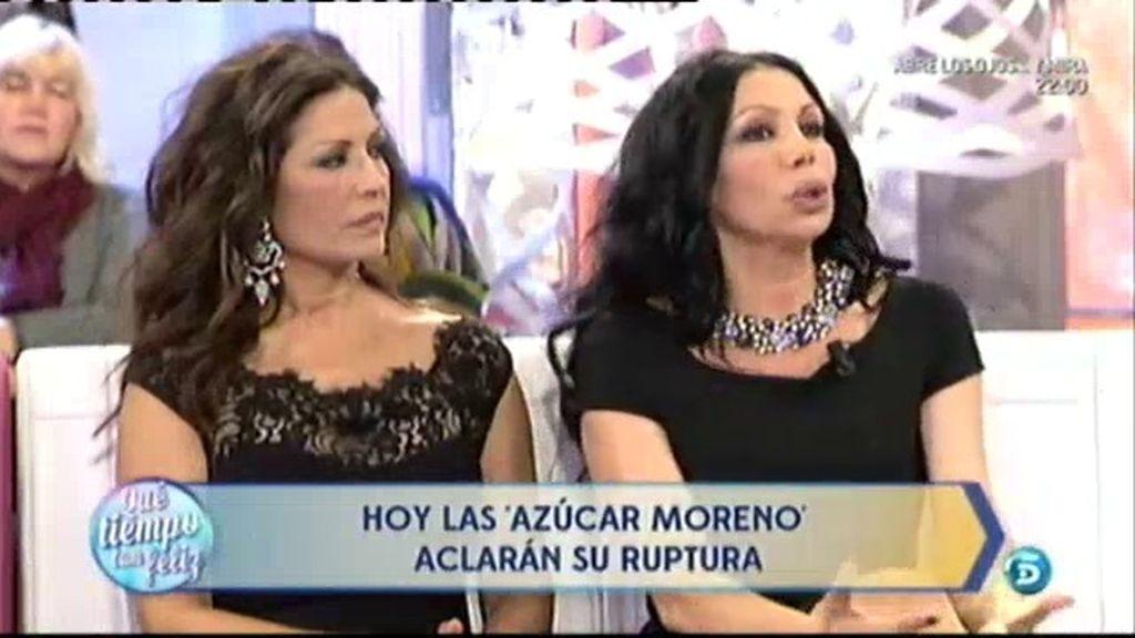"""Azúcar Moreno sobre su separación: """"Fue un momento duro, pero el tiempo ha ayudado"""""""