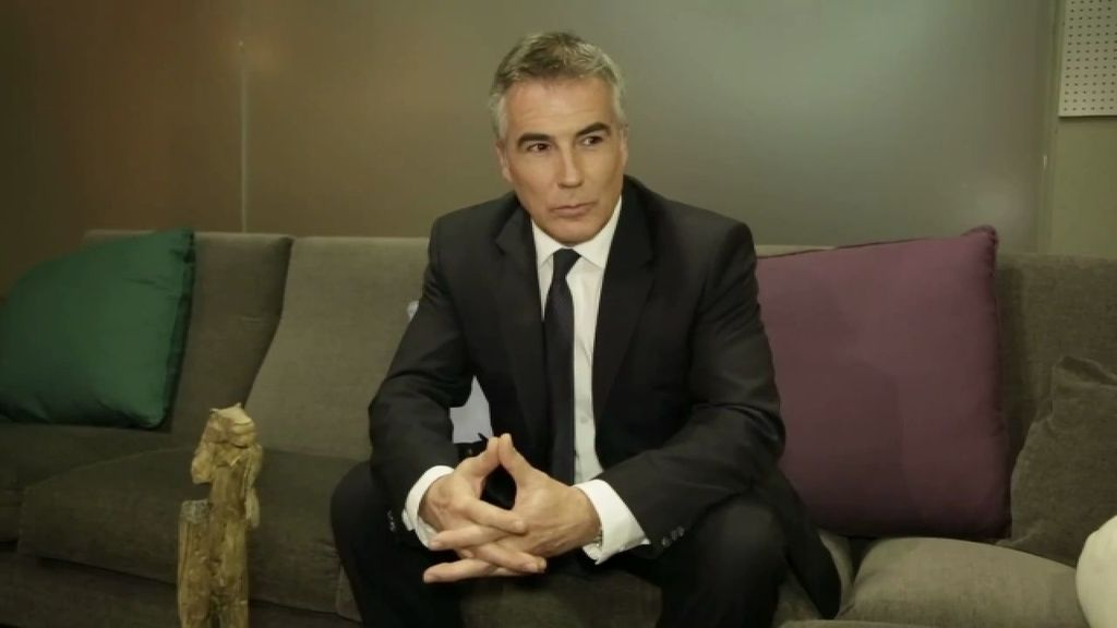David Cantero, presentador de Informativos, en Cuarto Milenio
