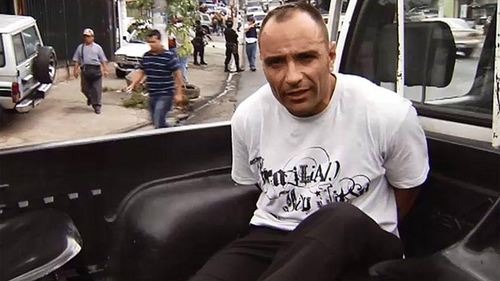 Cabo Vadillo, detenido en El Salvador