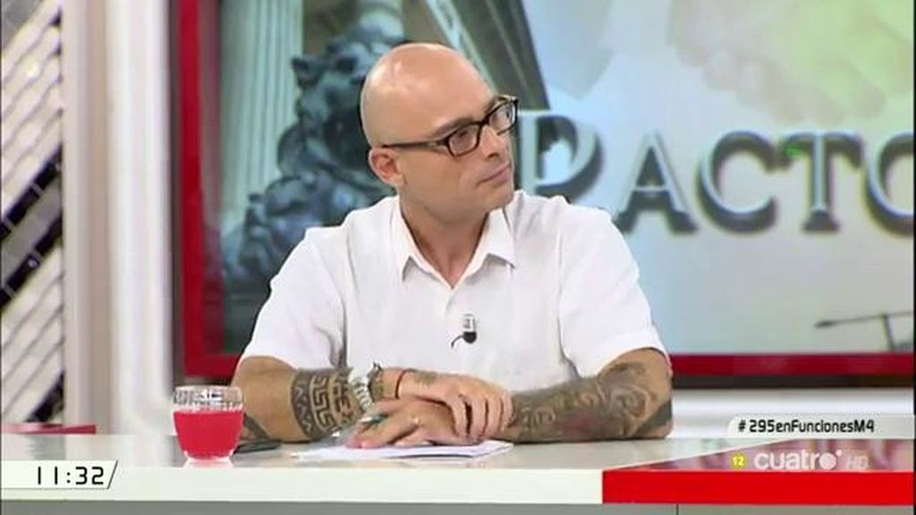 """Txema Guijarro: """"Me sorprende positivamente que el PSOE haya aguantado las presiones"""""""
