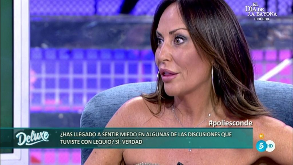 """Sonia Moldes: """"He sentido miedo en algunas discusiones que he tenido con Alessandro"""""""