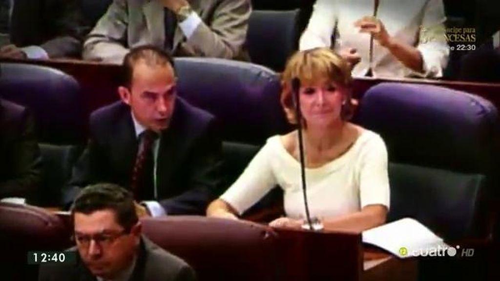 Esperanza Aguirre, 12 años de política bajo la sombra de la corrupción