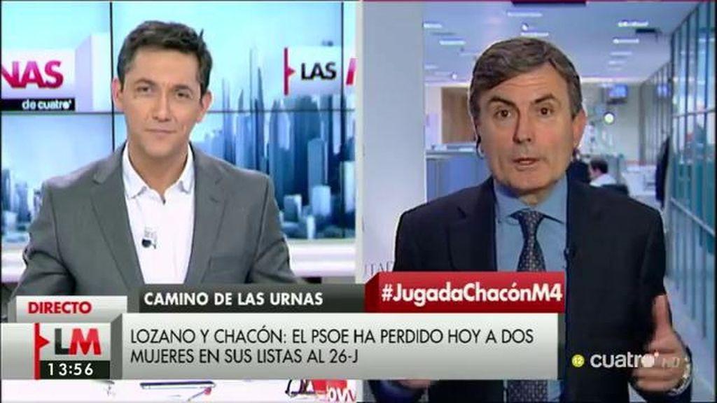 """Saura: """"Hay que tomar las renuncias de Chacón y Lozano desde la normalidad"""""""