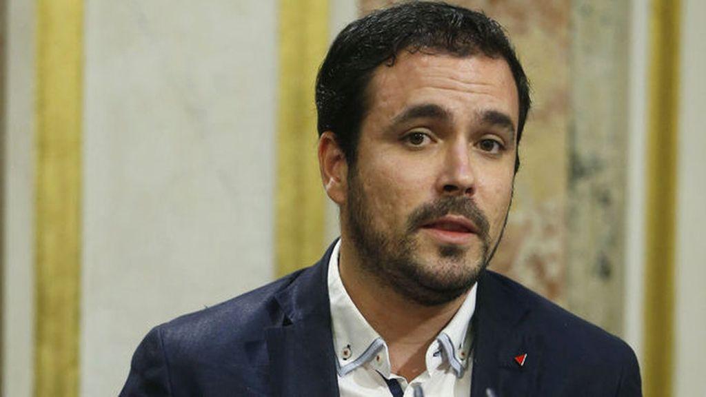"""Garzón sobre el discurso de Rajoy: """"Ha venido con un pacto para presionar al PSOE"""""""
