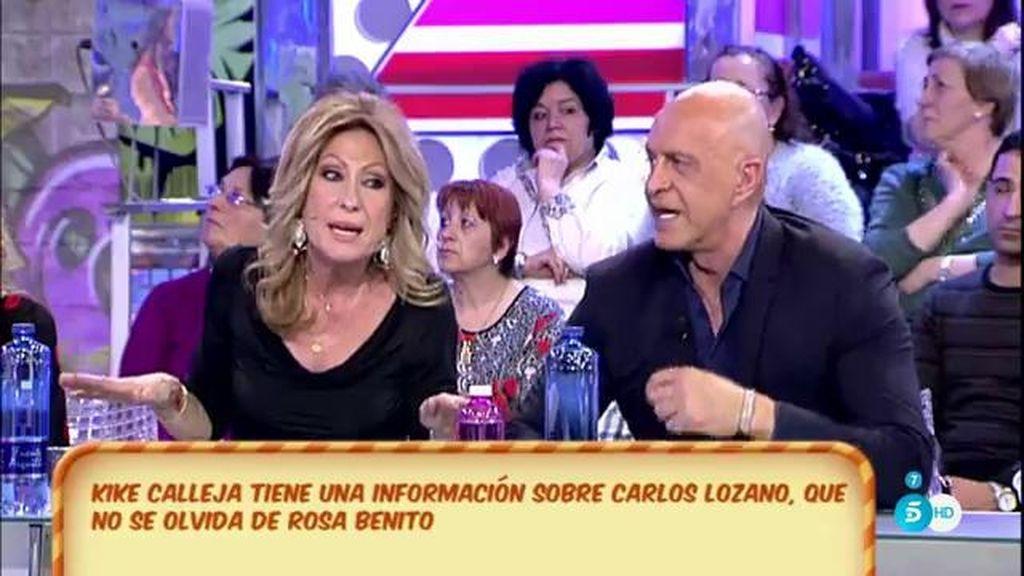 """Rosa Benito, a Carlos Lozano: """"Si alguna vez escuché tras la puerta, que me lo pongan"""""""