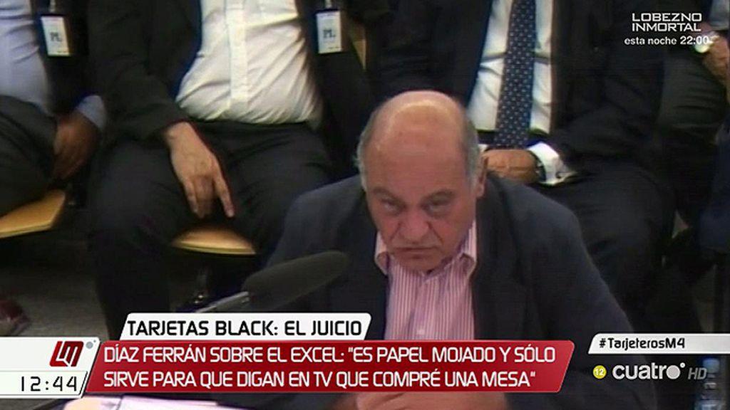 Gerardo Díaz Ferrán pierde los nervios en su declaración ante el juez por las 'black'