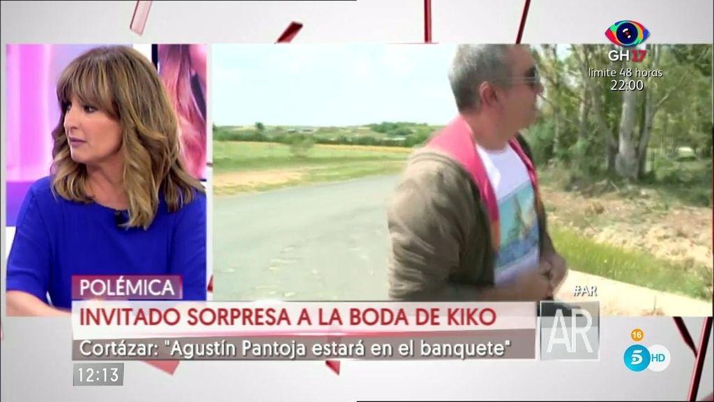 "Cortázar: ""Agustín Pantoja va a ir a la boda de Kiko"""