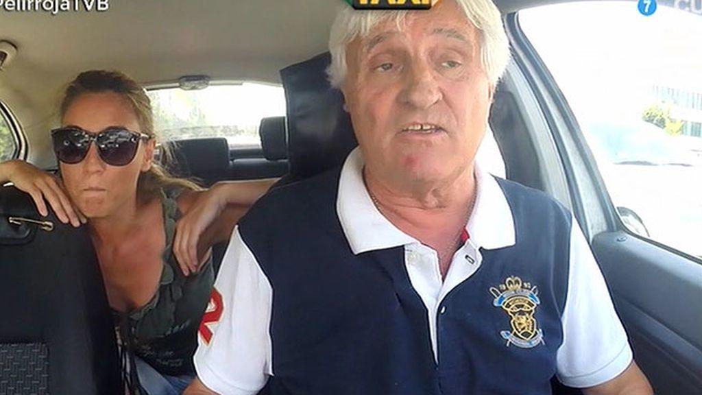 Javier Abascal y el taxi infectado