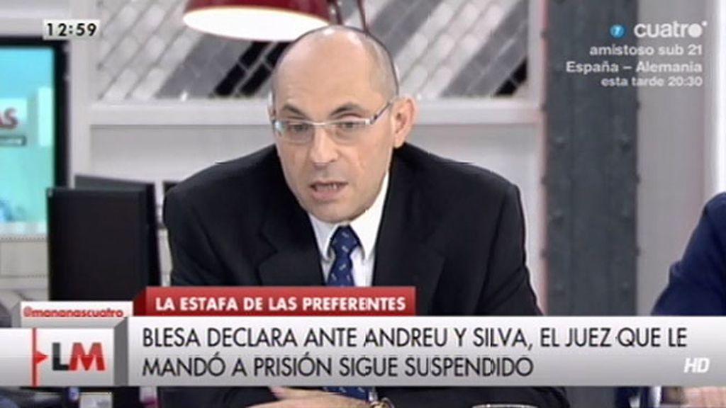"""""""Las declaraciones de Blesa lo que vienen prácticamente a reconocer es su culpabilidad"""""""