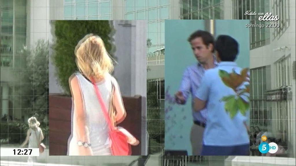 Momento de tensión: Alba Carrillo coincide con el hermano de Feliciano