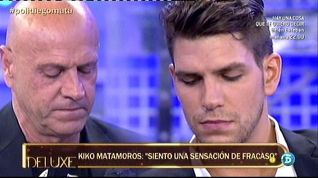 """Kiko Matamoros: """"Siento una enorme sensación de fracaso"""""""