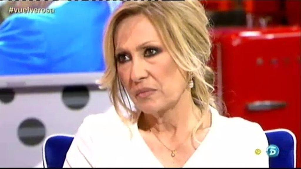 """Rosa Benito: """"Que Amador haga su vida, que yo voy hacer la mía"""""""