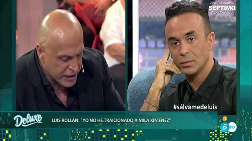 Kiko Matamoros lee los mensajes que podrían desmontar a Luis Rollán