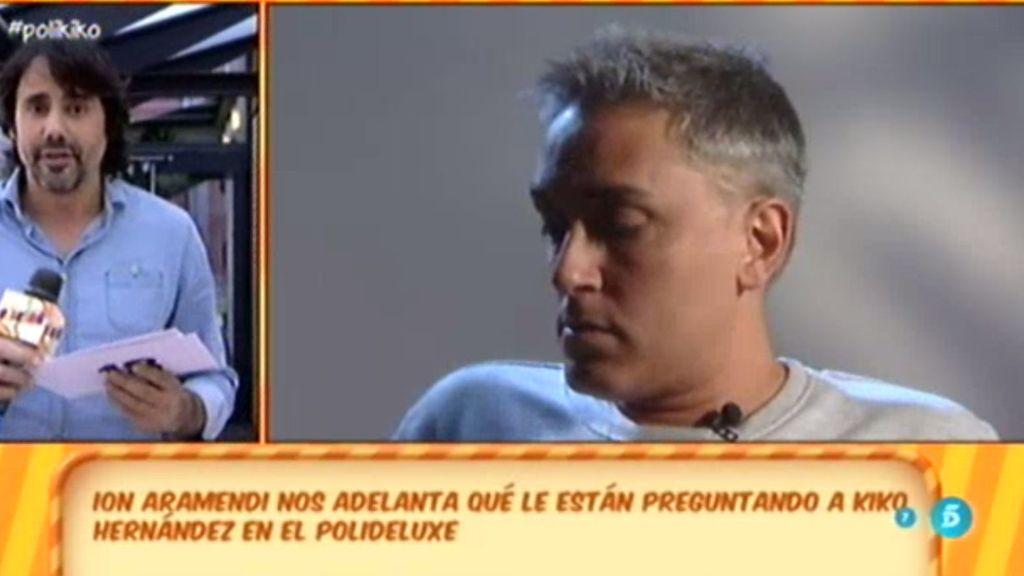 Kiko Hernández se está sometiendo a las pruebas del 'polideluxe' de esta noche