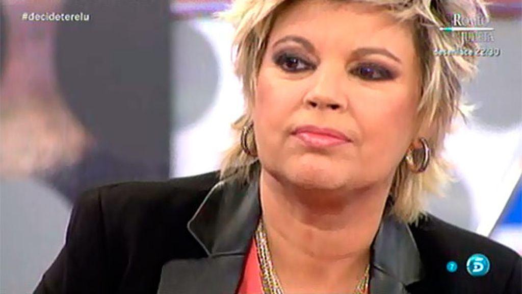 """Terelu, a Cristina Soria: """"Me considero una triunfadora emocionalmente gracias a ti"""""""