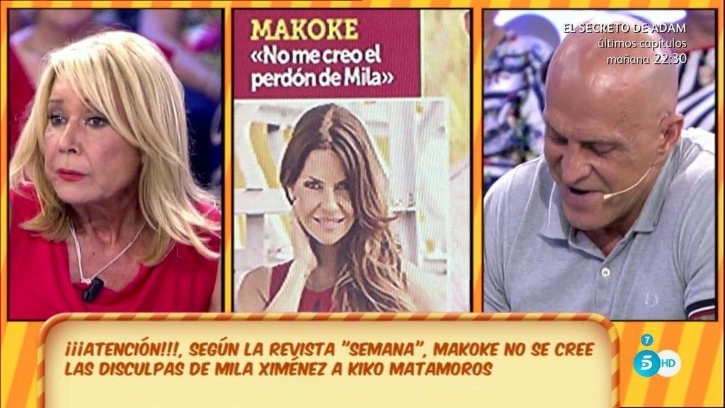 """Kiko M., de las declaraciones de Makoke sobre Mila: """"Hay que leer la entrevista"""""""