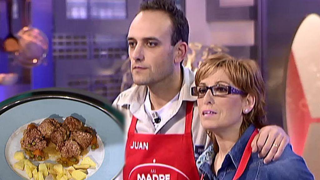 Dori y Juan se llevan los 1.000 euros por sus albóndigas rellenas con dados de patata