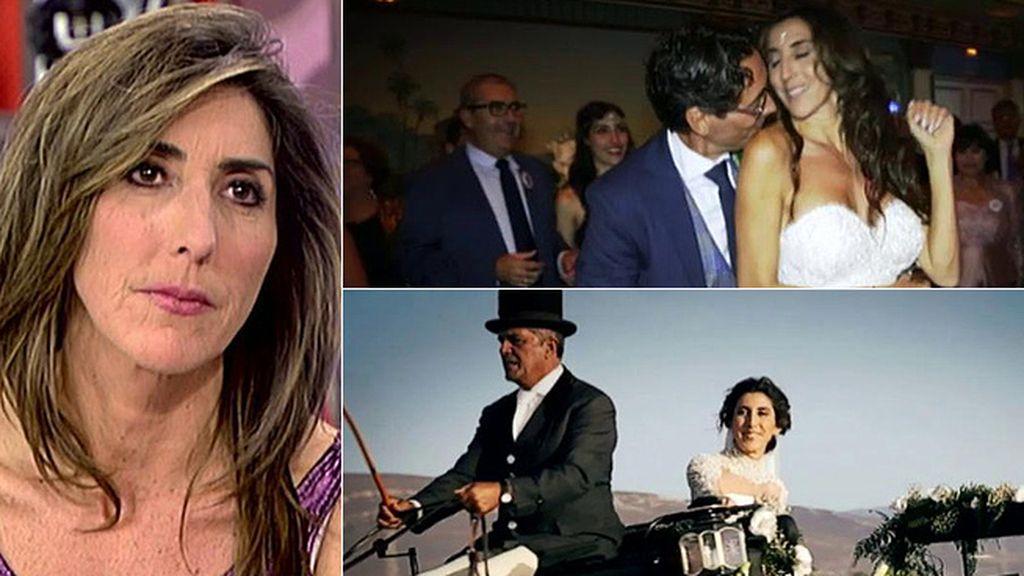 """Paz Padilla: """"Me he casado con el amor de mi vida, no me vuelvo a separar"""""""