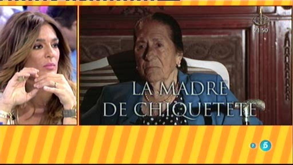 Manuela Pantoja, madre de Chiquetete, hablará este viernes en el 'Deluxe'