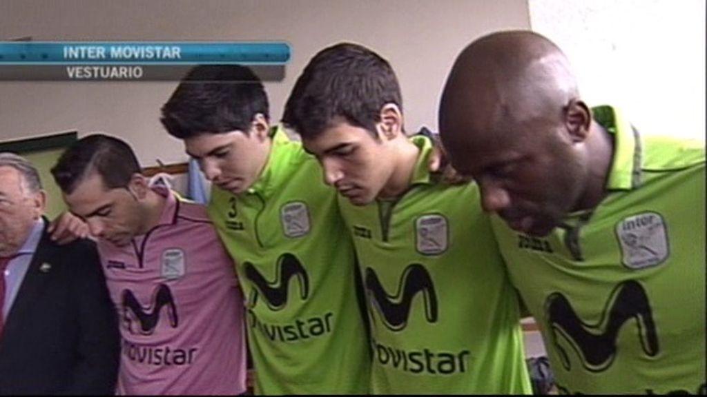 El Inter reza en el vestuario por Tito Vilanova y le dedica el partido: ¡Tito, va por ti!